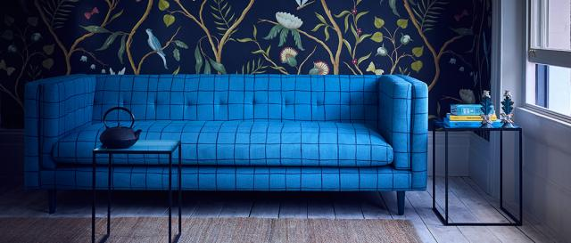 House & Garden Large Tennison Sofa in Designer Fabric