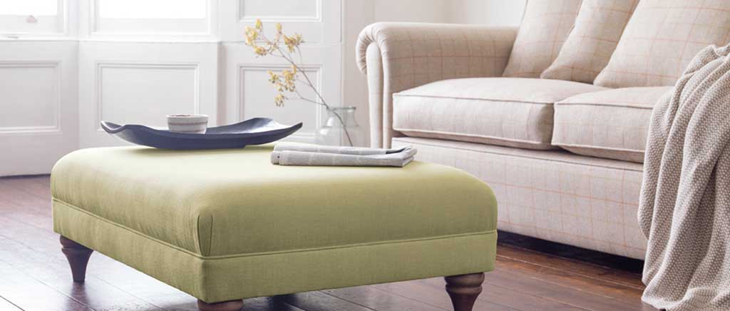 Otway Small Rectangle Footstool