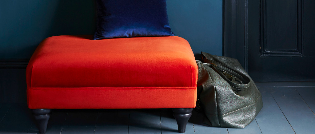 Otway Large Rectangle Footstool