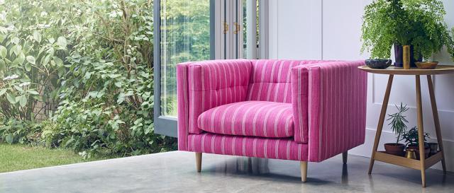 House & Garden Large Tennison Snuggler in House & Garden Fabric