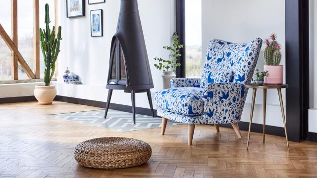 Aragon Chair New Otomi Print