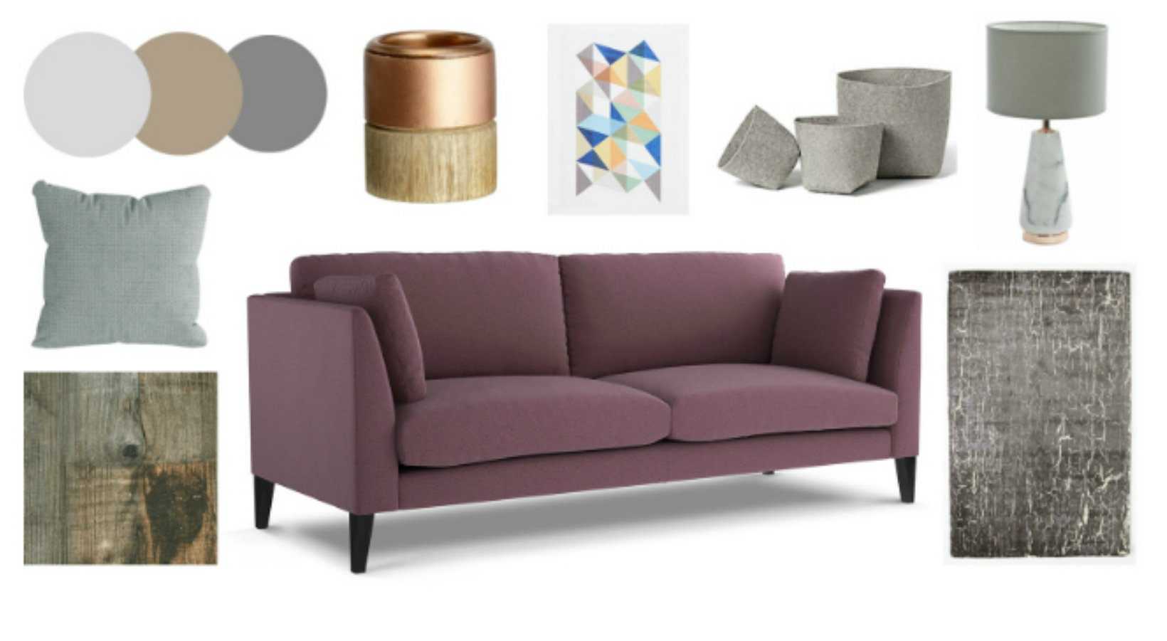 Get The Look - Philo Sofa