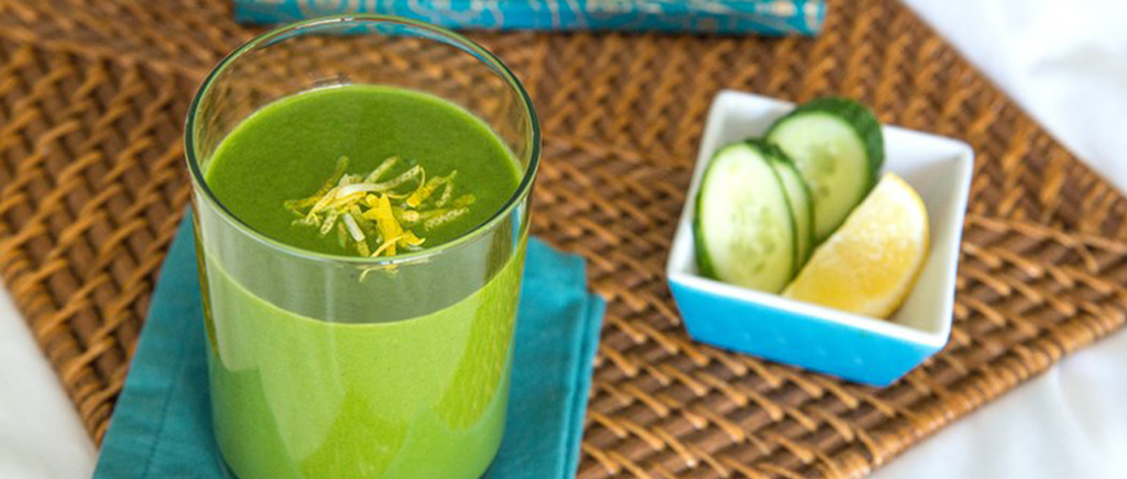 Avocado & Cucumber Smoothie
