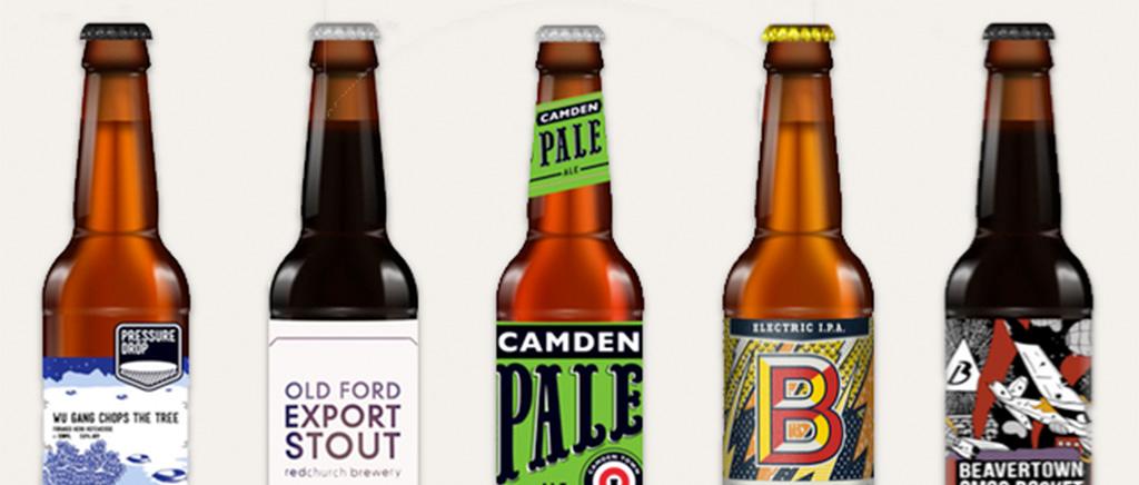 Assortment of Beers