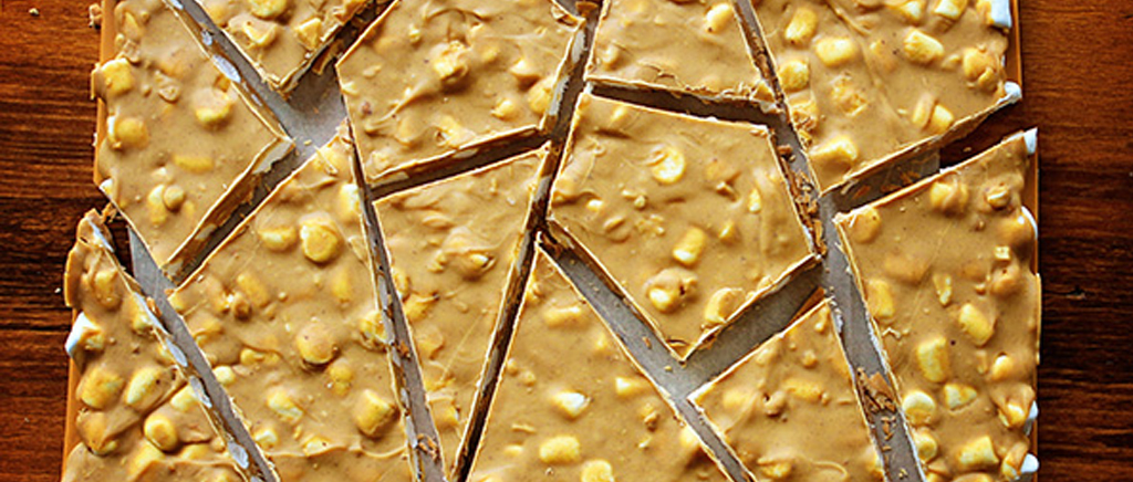 Butterscotch Peanut Butter Bark