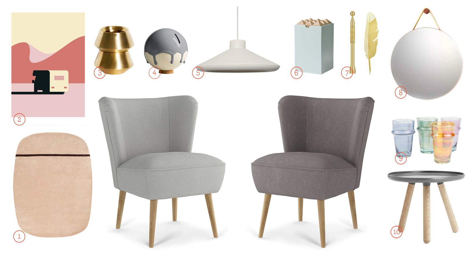 Get The Look - Emilia chairs