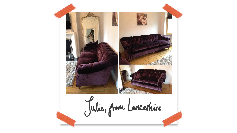 Customer Darcy Sofa Lancashire