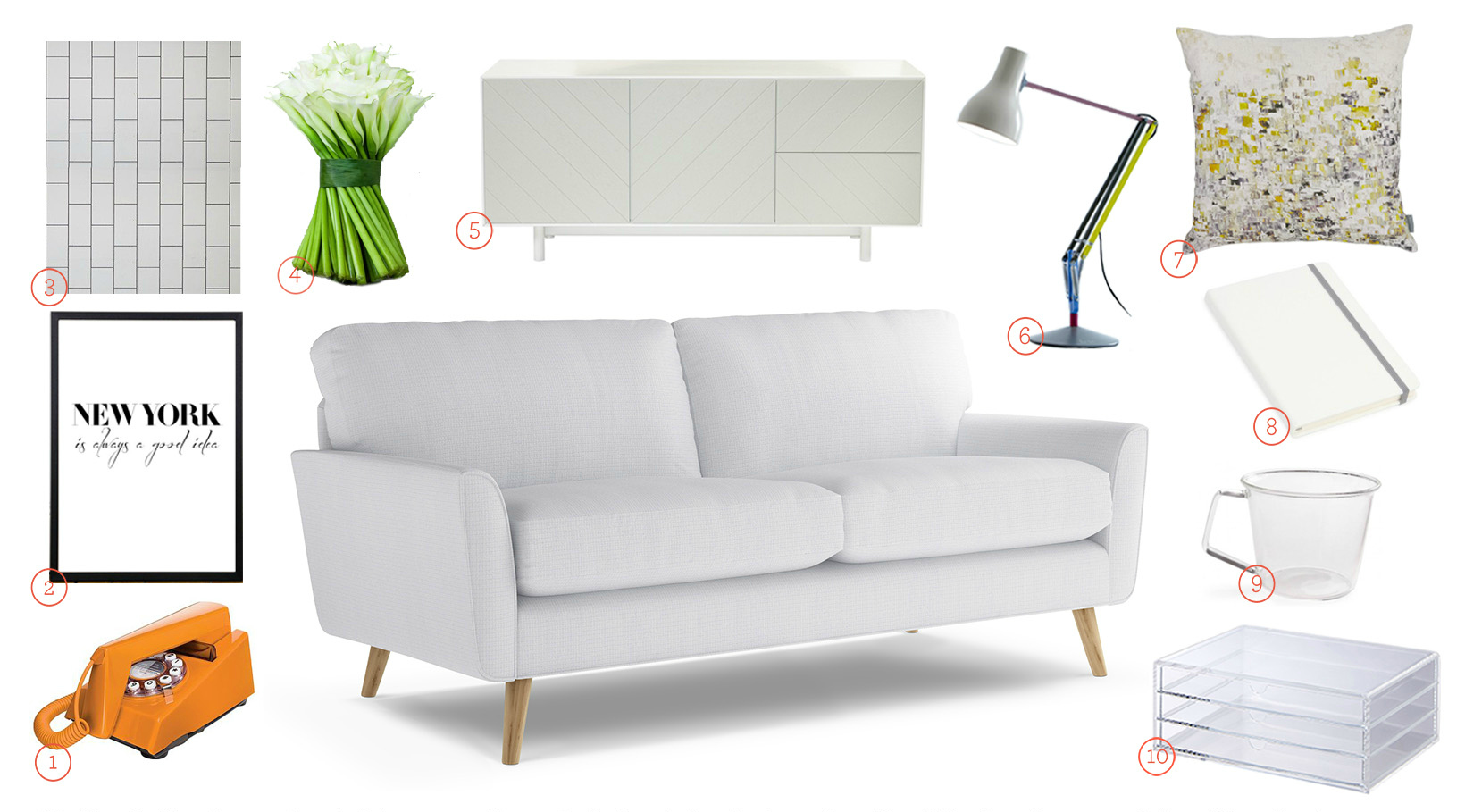 Get The Look - Bardolph Sofa