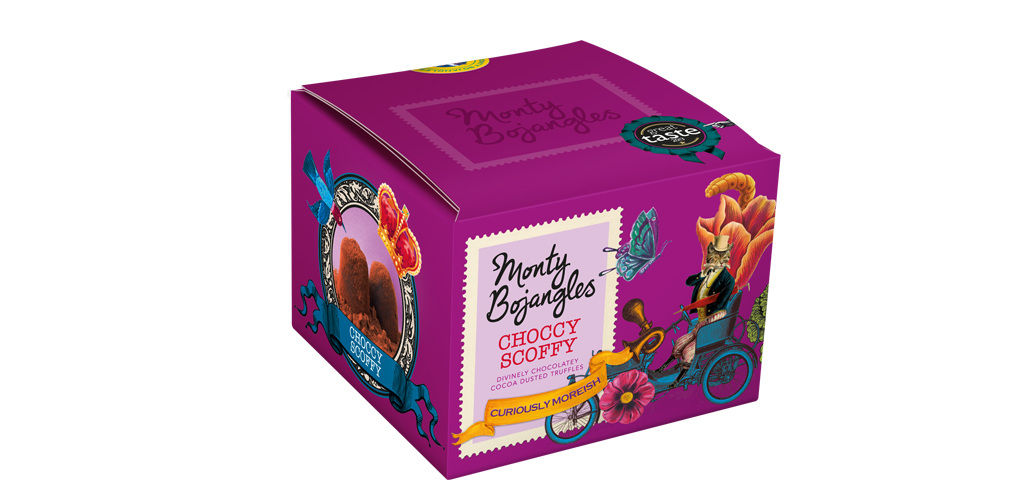 Monty Bojangles Chocolate