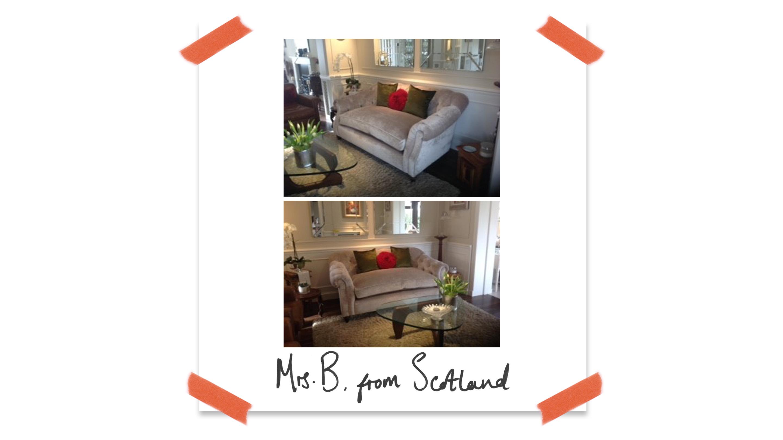 Customer Darcy Sofa Scotland