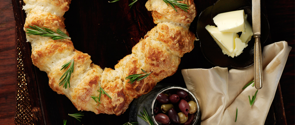 Christmas Cheese scone