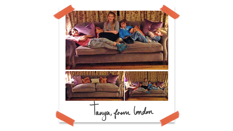 Customer Darcy Sofa London