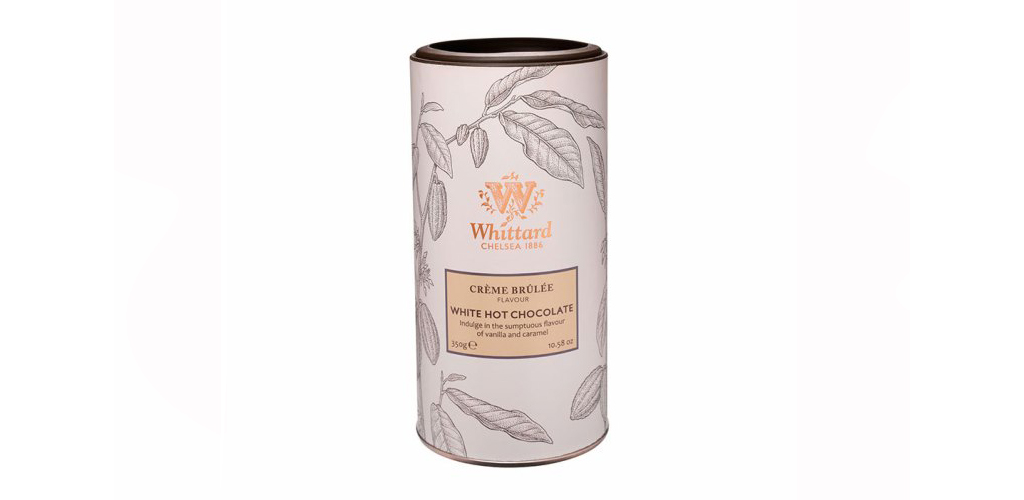Whittard Crème Brulee White Chocolate flavour