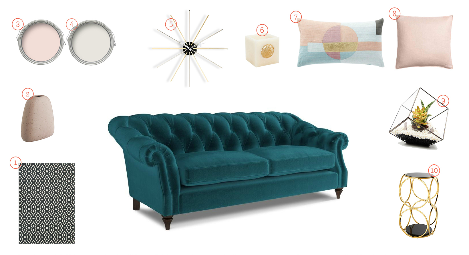 Get The Look: Dreaming In Teal