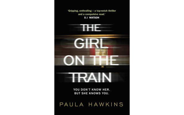 The Girl On The Train Book by Paula Hawkins