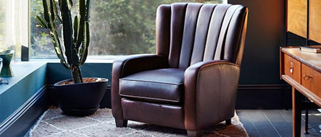Leather Wallis Armchair