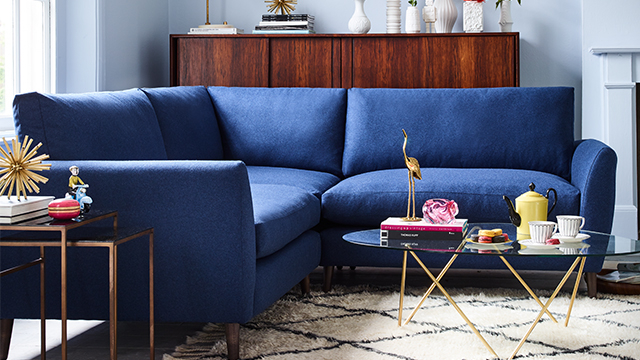 Earnshaw Small Corner Sofa