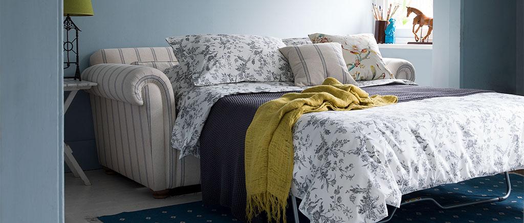 Striped Iris Sofa Bed