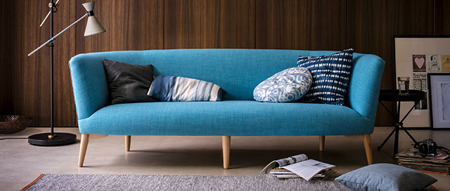 Stylish Contemporary Sofa Elton