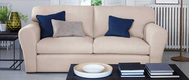Cushion back Sofa Montague