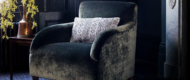 Italian Velvet Orlando Chair
