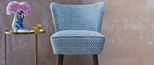 Retro armchair Emilia
