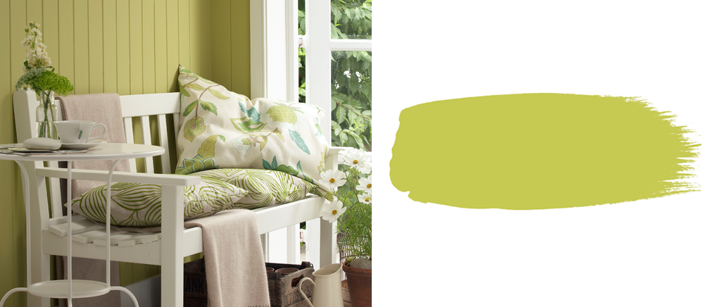 Little Greene Paint Pale Lime