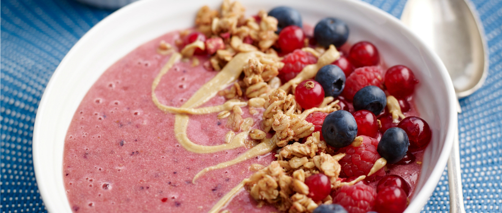 Valentine's Day Smoothie Bowl