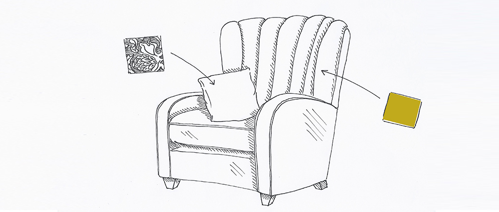 Wallis Armchair Sketch
