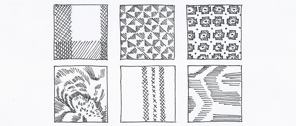 Fabric Sketches