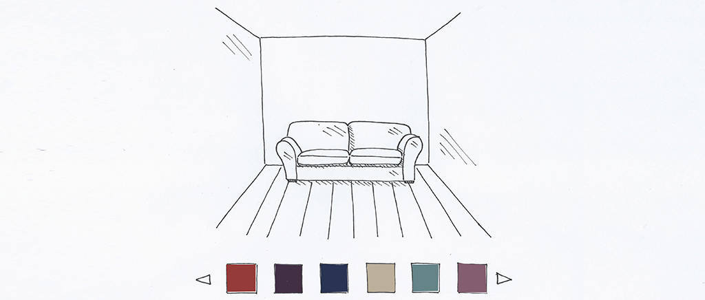 Montague 2 Seater Sofa Sketch