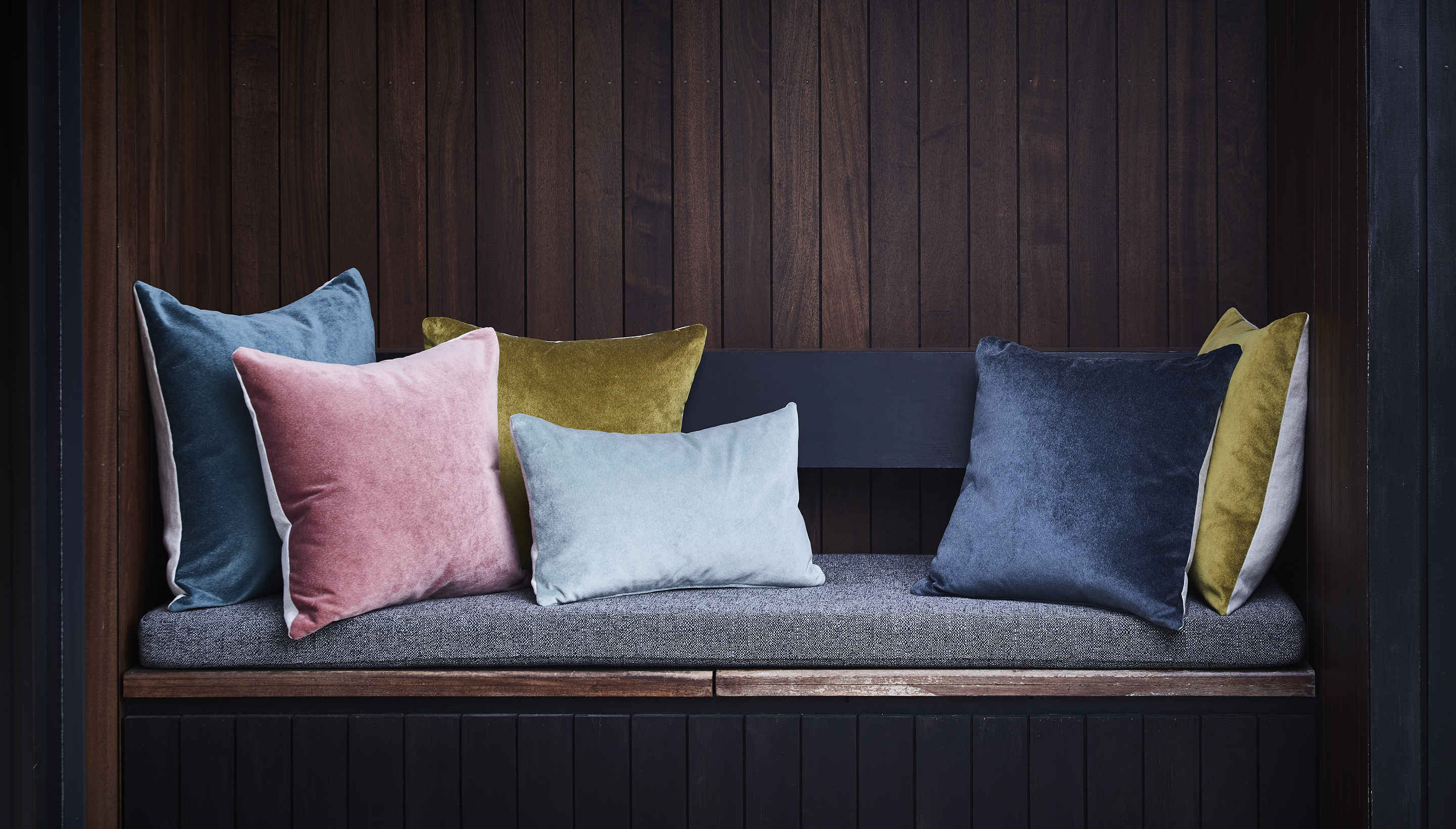 Linen Backed Cushions