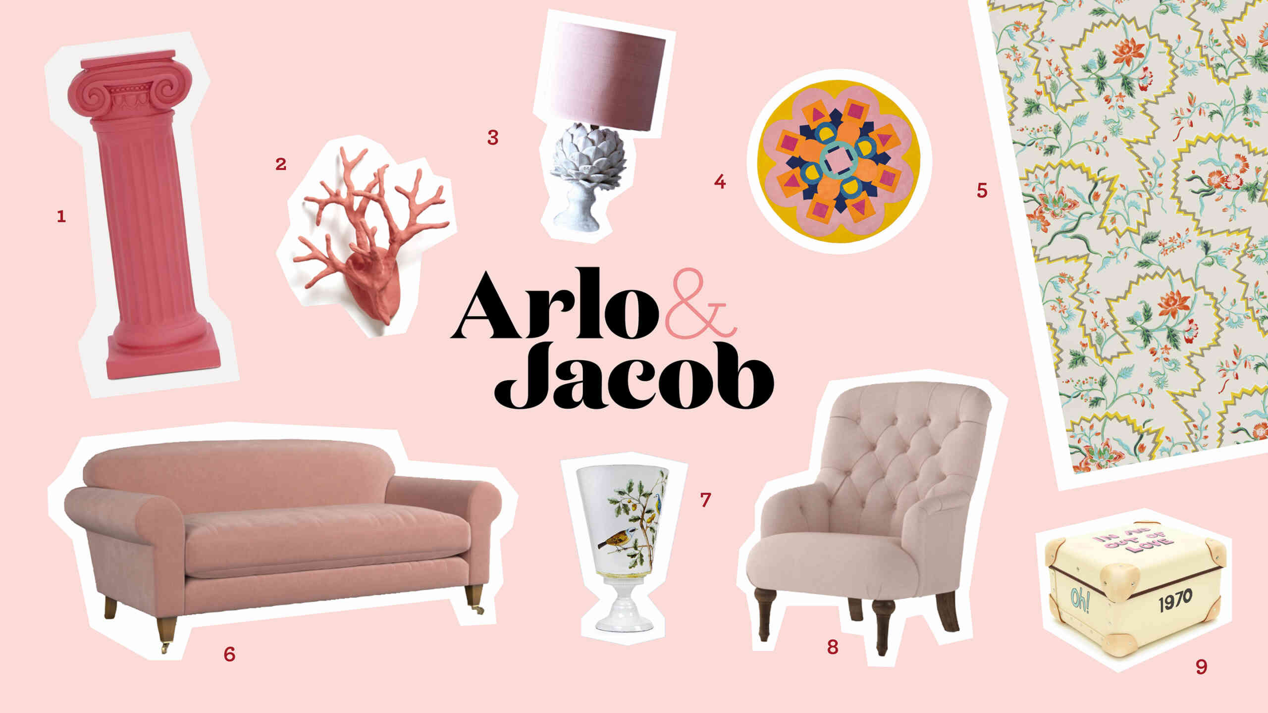 Get the Look Valentines home décor ideas from Arlo and Jacob